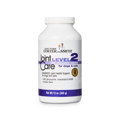 Drs. Foster and Smith Joint Care Level 2 Chewable Tablets for Dogs and Cats