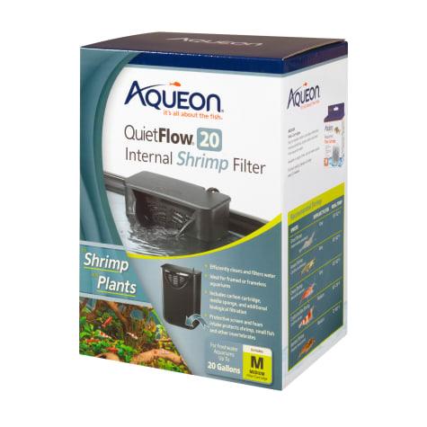 Aqueon QuietFlow 20 Internal Shrimp Filter