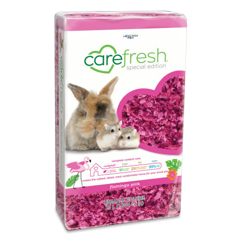 Carefresh Flamingo Pink Small Pet Bedding