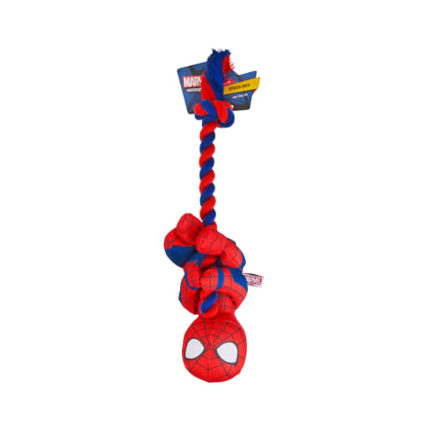 Marvel Spider-Man Plush and Rope Dog Toy