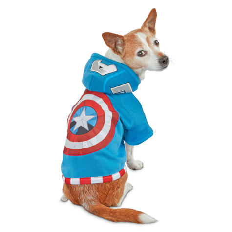 Marvel Avengers Captain America Dog Hoodie
