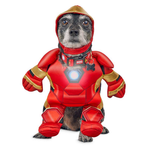 Marvel Avengers Iron Man Light Up Illusion Suit Dog Costume