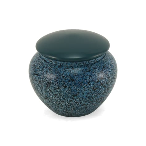 A Pet's Life Personalized Alloy Cremation Urn, Midnight Blue, Pet Memorial for Pet Weight Up to 20 lbs.