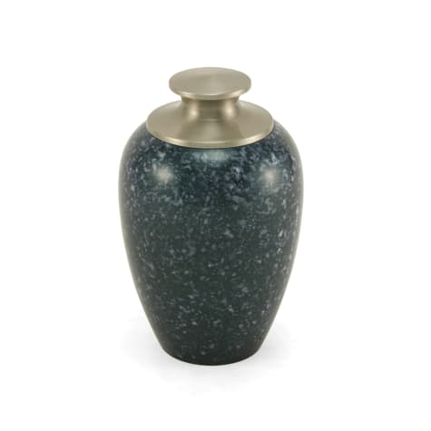 A Pet's Life Personalized High Gloss Cremation Urn, Blue, Pet Memorial for Pet Weight Up to 20 lbs.