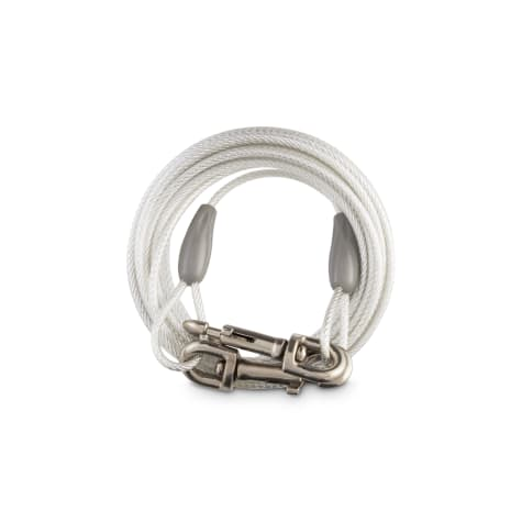 You & Me Free-To-Flex Reflective Tie-Out Cable for Dogs Up to 100 lbs.