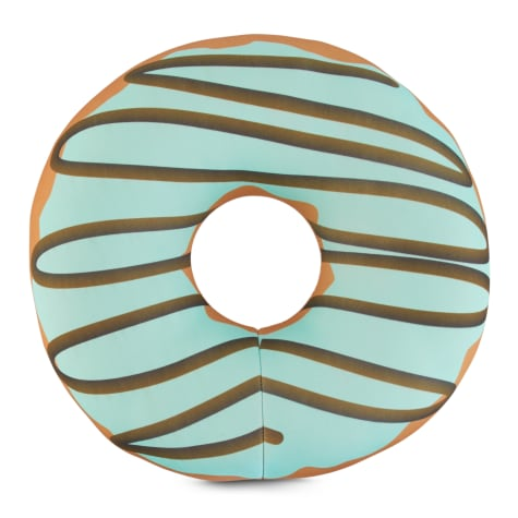 Leaps & Bounds Play Plush Floating Donut Dog Toy
