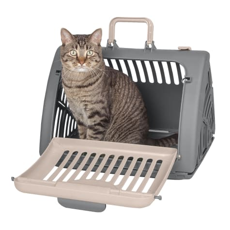 SportPet Designs Kitty City Tan Pet Travel Carrier