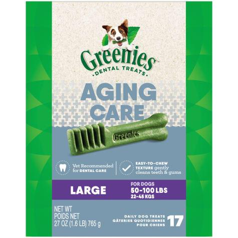 Greenies Aging Care Large Size Dental Dog Treats