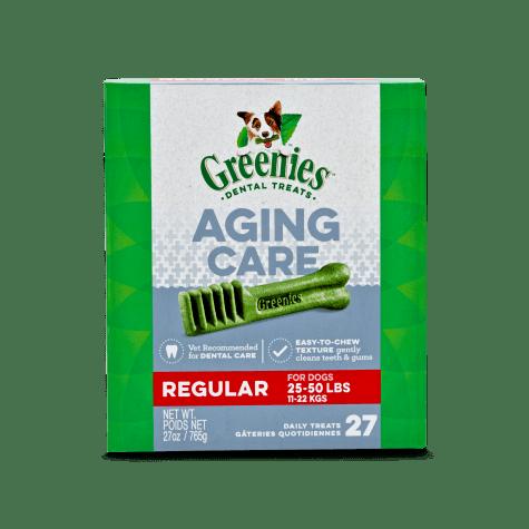 Greenies Aging Care Regular Size Dental Dog Treats