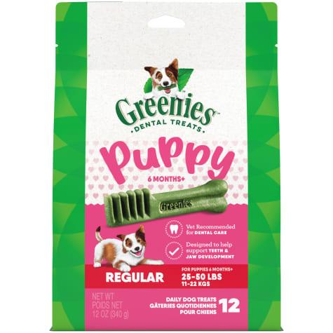 Greenies Puppy 6+ Months Regular Size Dental Treats