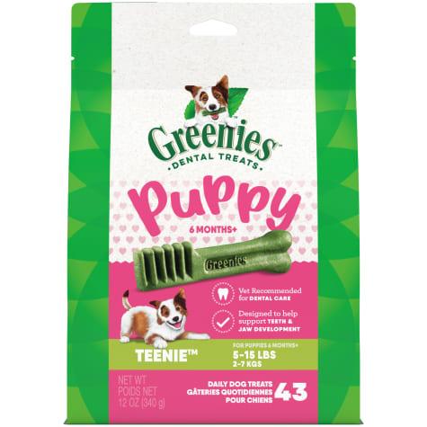 Greenies Puppy 6+ Months Teenie Size Dental Treats