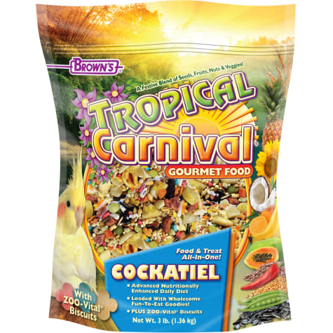 Brown's Tropical Carnival Cockatiel Food