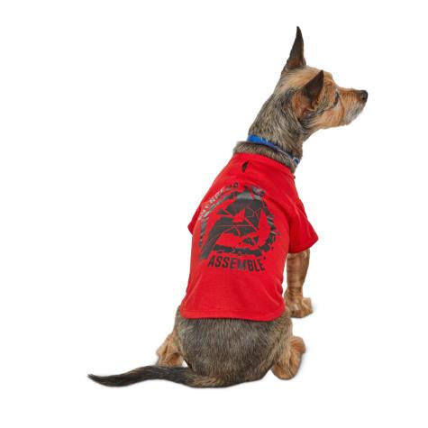 Marvel Avengers Assemble Dog T-Shirt
