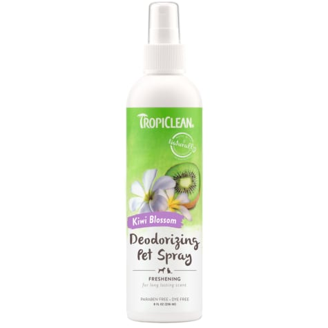 TropiClean Kiwi Blossom Deodorizing Pet Spray