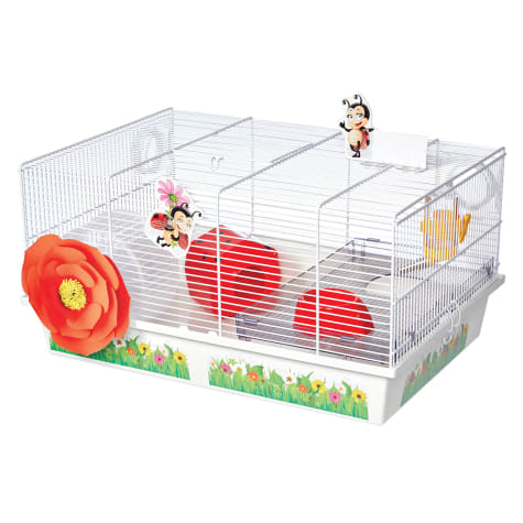 Midwest Critterville Ladybug Hamster Cage