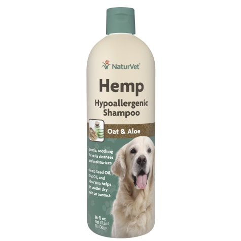 NaturVet Hemp Hypoallergenic Shampoo for Dogs
