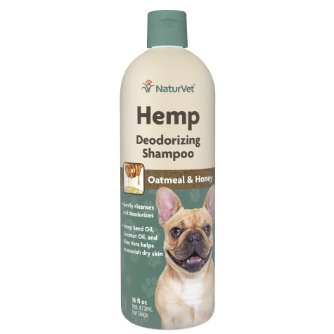 NaturVet Hemp Deodorizing Shampoo for Dogs