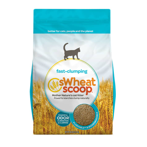 sWheat Scoop Fast-Clumping Formula Cat Litter