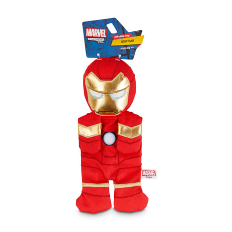 Marvel Avengers Iron Man Flattie Dog Toy