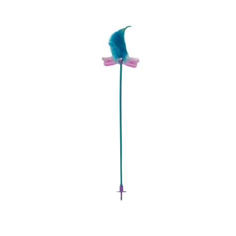 Petstages Flutter Wand With Accessory Cat Toys
