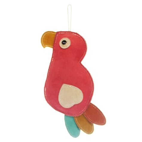 Aussie Naturals Parrot Flattie Dog Toy