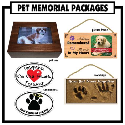 Imagine This Memorial Pet Urn Package