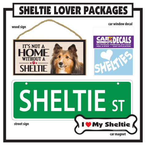 Imagine This Sheltie Gift Package