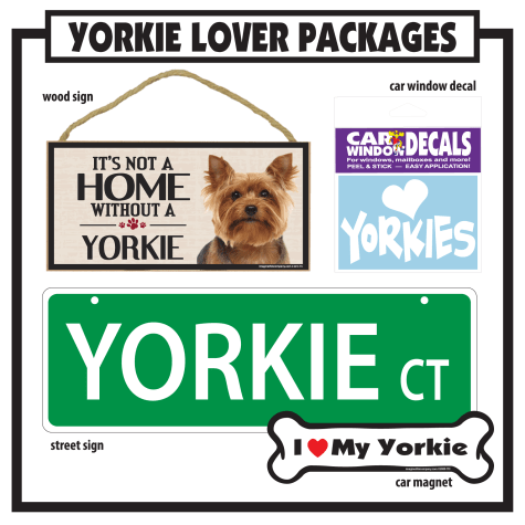 Imagine This Yorkie Gift Package