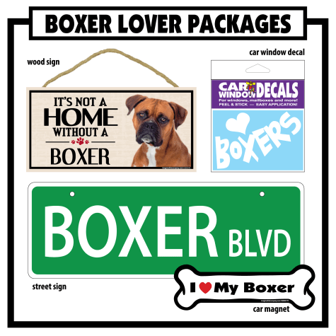 Imagine This Boxer Gift Package