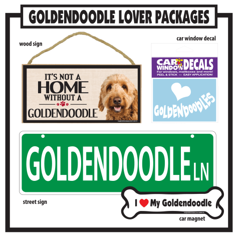 Imagine This Goldendoodle Gift Package
