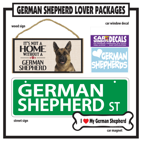 Imagine This German Shepherd Gift Package