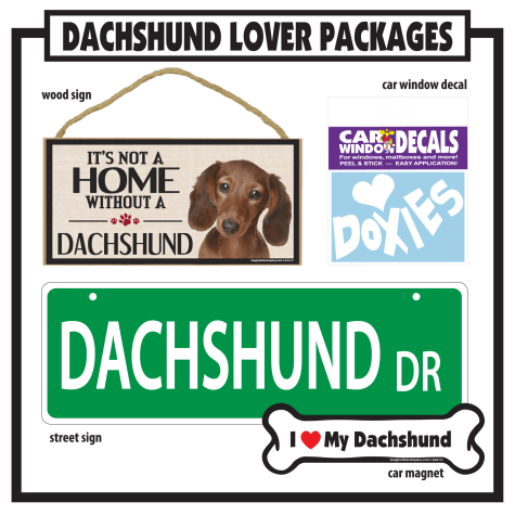 Imagine This Dachshund Gift Package