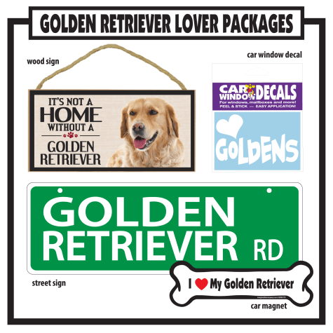 Imagine This Golden Retriever Gift Package
