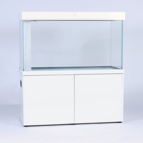 Pro Clear Aquatic Systems All in One White Glass Aquarium