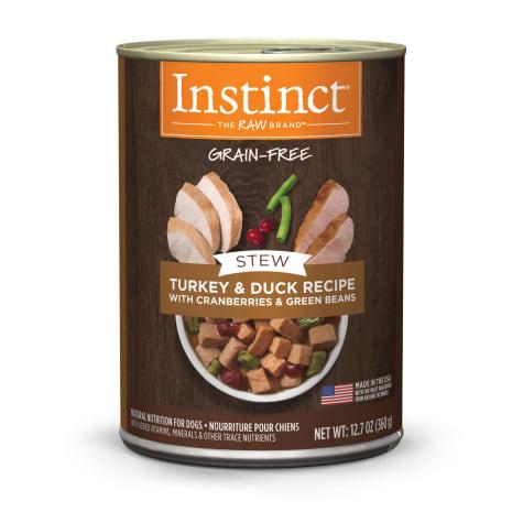 Instinct Grain-Free Stews Turkey & Duck Recipe Wet Dog Food