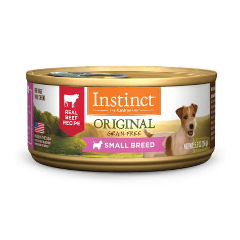 Instinct Original Small Breed Grain-Free Real Beef Recipe Wet Dog Food