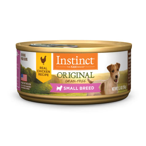 Instinct Original Small Breed Grain Free Real Chicken Recipe Natural Wet Dog Food by Nature's Variety