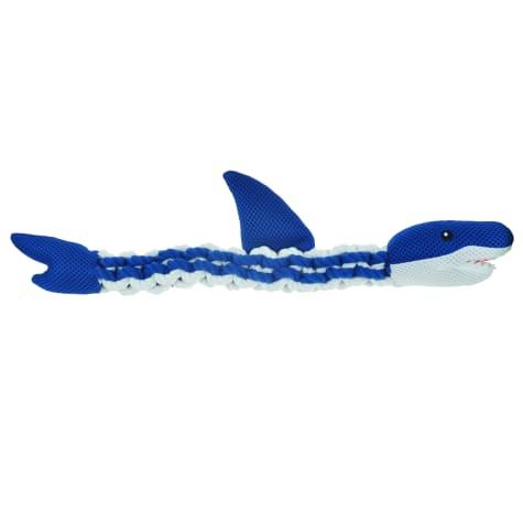 Bark A Boo Rope Mesh Shark Dog Toys