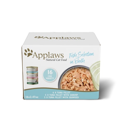Applaws Fish Selection in Broth Multipack Wet Cat Food