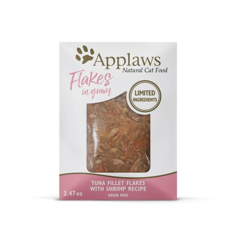 Applaws Tuna Flakes with Shrimp in Gravy Wet Cat Food