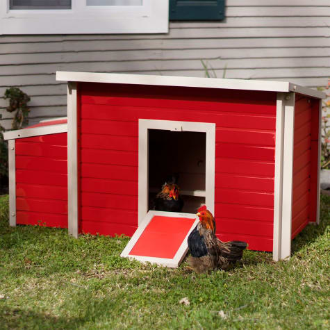 New Age Pet ecoFLEX Fontana Chicken Barn in Red