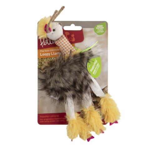 Petlinks HappyNip Loopy Llama Plush Catnip Cat Toy