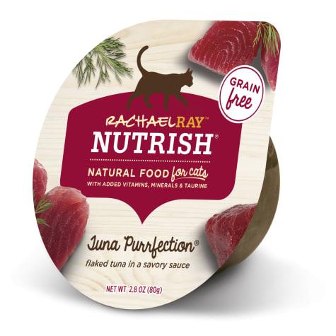 Rachael Ray Nutrish Natural Grain Free Tuna Purrfection Wet Cat Food