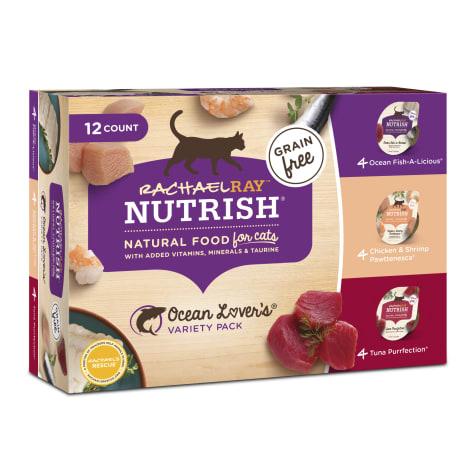 Rachael Ray Nutrish Natural Grain Free Ocean Lovers Variety Pack Wet Cat Food