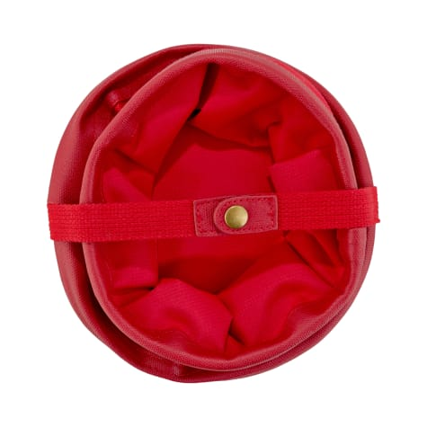 Reddy Collapsible Red Pet Travel Bowl