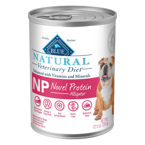 Blue Buffalo BLUE Natural Veterinary Diet NP Novel Protein-Alligator Wet Dog Food