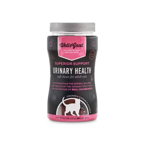 Well & Good Superior Support Urinary Health Soft Chews for Adult Cats