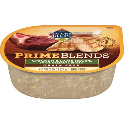 Nature's Recipe Prime Blends Chicken and Lamb Recipe Wet Dog Food