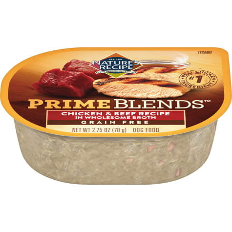 Nature's Recipe Prime Blends Chicken and Beef Recipe Wet Dog Food
