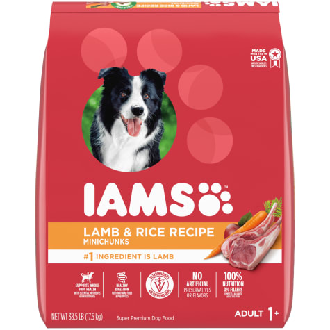 Iams ProActive Health Adult High Protein with Lamb and Rice Dry Dog Food